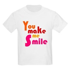 'You Make Me Smile' T-Shirt