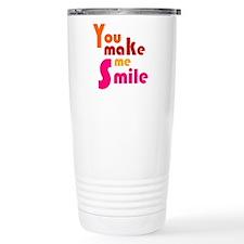 'You Make Me Smile' Travel Mug