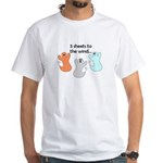 3 SHEETS TO THE WIND White T-Shirt