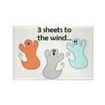 3 SHEETS TO THE WIND Rectangle Magnet (100 pack)