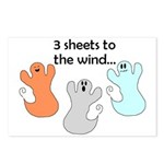 3 SHEETS TO THE WIND Postcards (Package of 8)