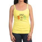 3 SHEETS TO THE WIND Jr. Spaghetti Tank