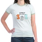 3 SHEETS TO THE WIND Jr. Ringer T-Shirt