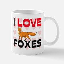 I Love Foxes Mug