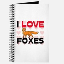 I Love Foxes Journal