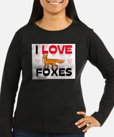 I Love Foxes T-Shirt