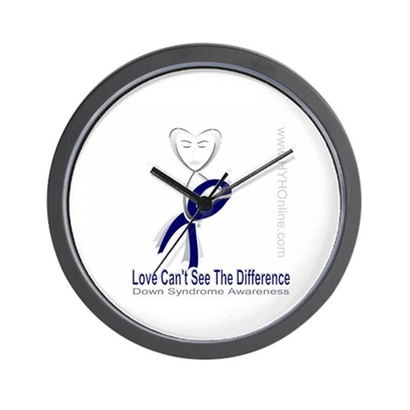 Love Can't See Wall Clock