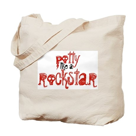Potty Like a Rockstar! Tote Bag