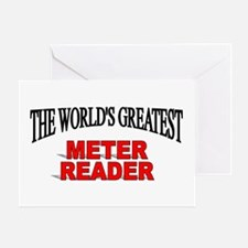 """The World's Greatest Meter Reader"" Greeting Card"