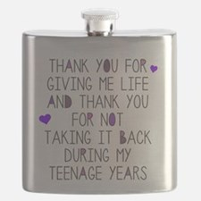 Thank You Mom Flask