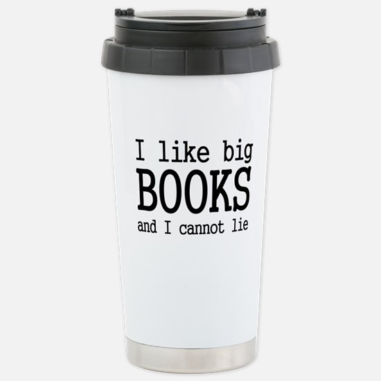 I like big books and I cannot Stainless Steel Trav