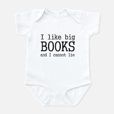 I like big books and I cannot Infant Bodysuit