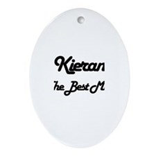 Kieran - The Best Man Oval Ornament
