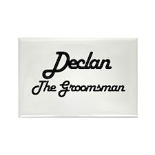 Declan - The Groomsman Rectangle Magnet