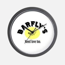BARFLY'S NEED LOVE TOO Wall Clock