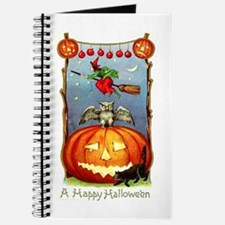 Happy Halloween Witch Journal