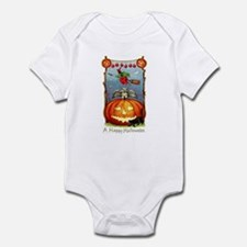 Happy Halloween Witch Infant Bodysuit