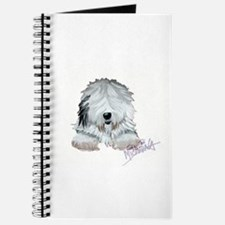 Unique Old english sheepdogs Journal