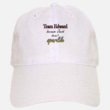 Team Edward Because Jacob doe Baseball Baseball Cap