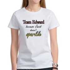 Team Edward Because Jacob doe Tee
