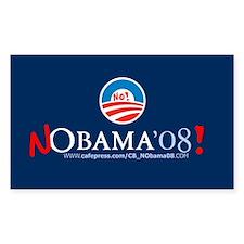 NObama Rectangle Sticker 10 pk)