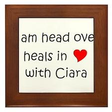 Cool Ciara Framed Tile