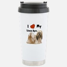 I Love My Lhasa Apso Travel Mug