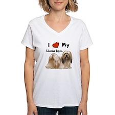 I Love My Lhasa Apso Shirt