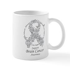 Brain Cancer Butterfly Ribbon Mug