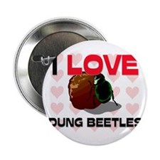 "I Love Dung Beetles 2.25"" Button"