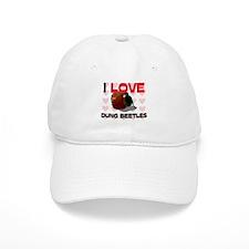 I Love Dung Beetles Baseball Cap