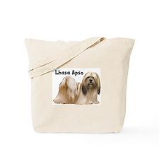 Lhasa Apso Tote Bag