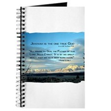 Jehovah is God Journal