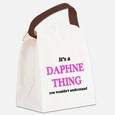 It's a Daphne thing, you woul Canvas Lunch Bag