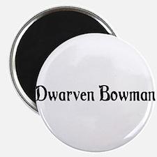 Dwarven Bowman Magnet