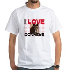 I Love Donkeys Shirt