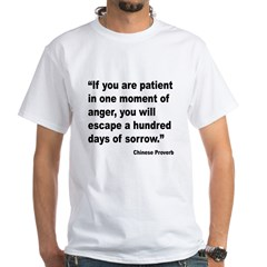 Patient Anger Sorrow Proverb Shirt