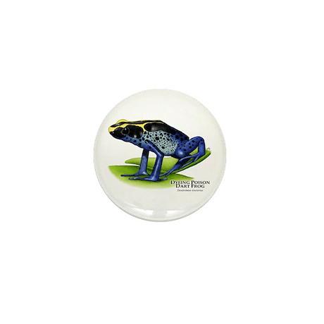 Dyeing Poison Dart Frog Mini Button