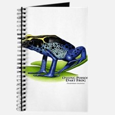 Dyeing Poison Dart Frog Journal