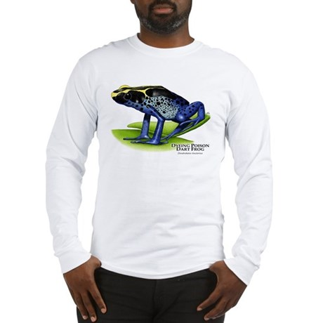 Dyeing Poison Dart Frog Long Sleeve T-Shirt