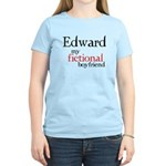 Edward My Fictional Boyfriend Women's Light T-Shir