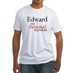 Edward My Fictional Boyfriend Fitted T-Shirt