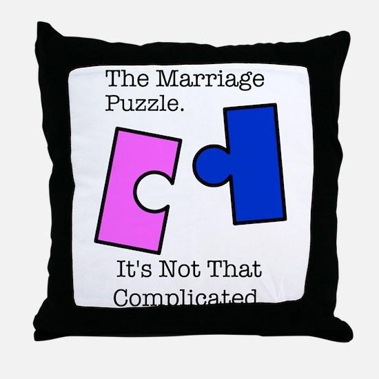 Unique Proposition 8 Throw Pillow