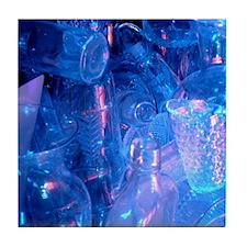 Hi-Res Glasses Tile Coaster