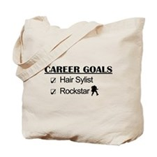 Hair Stylist Career Goals - Rockstar Tote Bag