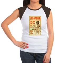 Gilda Gray Women's Cap Sleeve T-Shirt