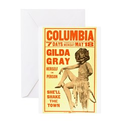 Gilda Gray Greeting Card
