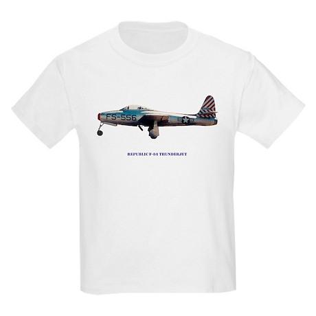 Republic F-84 Thunderjet Kids Light T-Shirt