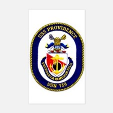 USS Providence SSN 719 Rectangle Stickers