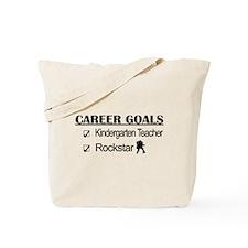 Kindergarten Teacher Career Goals - Rockstar Tote